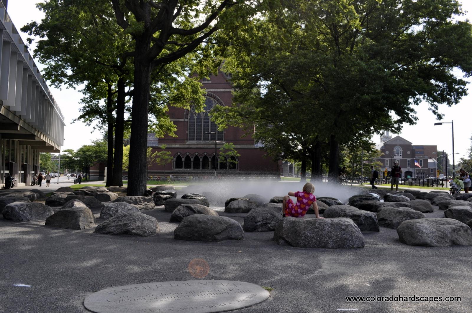 di giacomo fountain rock feature tanner fountain water feature