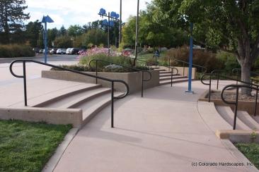Sandscape steps and flatwork