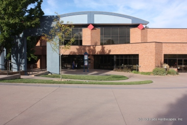 Sandscape lends itself well to the design and coordination with the Arvada Center