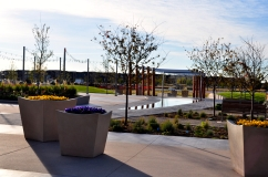 Concrete flatwork by Colorado Hardscapes