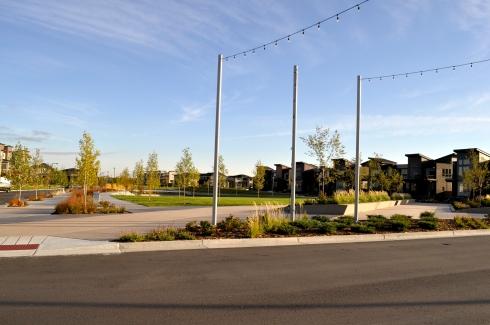 Decorative concrete flatwork, walls and planters by Colorado Hardscapes