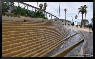 This water feature inspired the water feature sales people on our team! Part of the beautiful park Shaw & Sons worked on