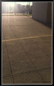 This Lithocrete Wowed us - installed by Shaw & Sons